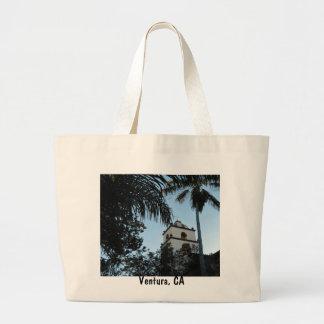 Ventura, California, Mission Canvas Bag