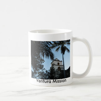 Ventura, California, Mission Basic White Mug