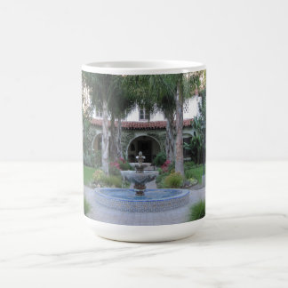Ventura Mission Garden and Fountain Coffee Mugs