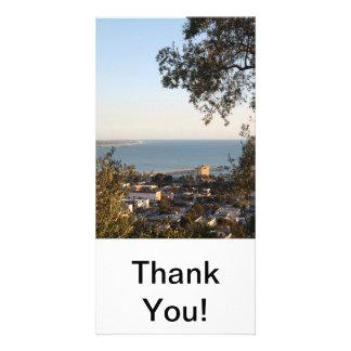 Ventura Skyline Custom Photo Card