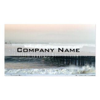 Ventura Storm Pier Business Card Templates