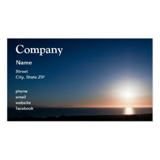 Ventura Sunset Pack Of Standard Business Cards