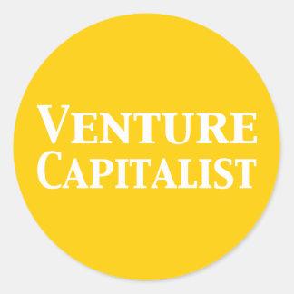 Venture Capitalist Gifts Round Sticker