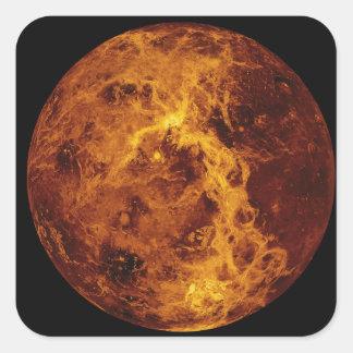 Venus 3 square sticker