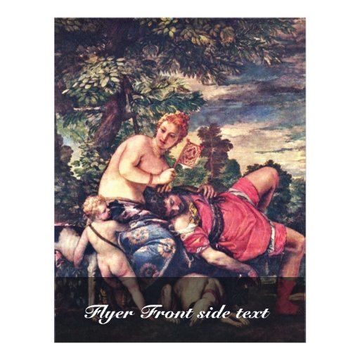 Venus And Adonis By Veronese Paolo (Best Quality) Flyers