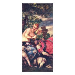 Venus And Adonis By Veronese Paolo (Best Quality) Customized Rack Card