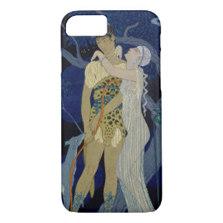 Venus and Adonis (colour litho) iPhone 8/7 Case