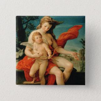 Venus and Cupid, 1785 15 Cm Square Badge