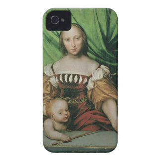 Venus and Cupid, c.1524 (oil on limewood) iPhone 4 Case-Mate Case