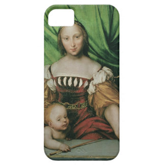 Venus and Cupid, c.1524 (oil on limewood) iPhone 5 Cases