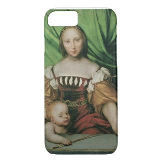 Venus and Cupid, c.1524 (oil on limewood) iPhone 7 Case