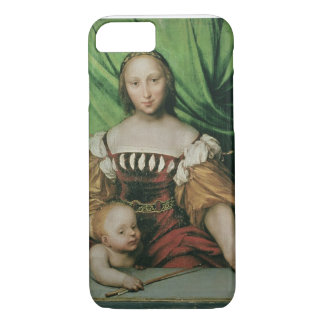 Venus and Cupid, c.1524 (oil on limewood) iPhone 8/7 Case