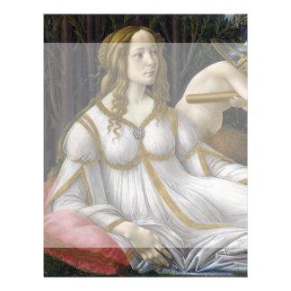 Venus and Mars by Sandro Botticelli 21.5 Cm X 28 Cm Flyer