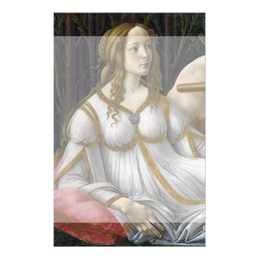 Venus and Mars by Sandro Botticelli Personalized Flyer