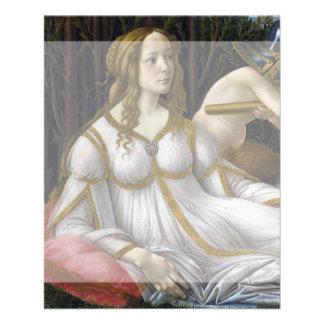 Venus and Mars by Sandro Botticelli Custom Flyer