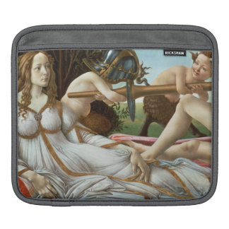Venus and Mars, c.1485 (tempera and oil) iPad Sleeve