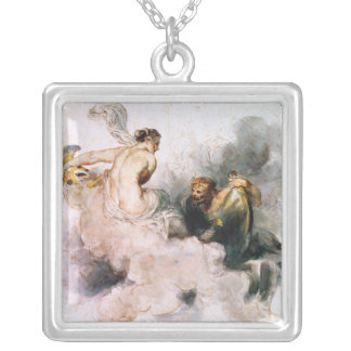 Venus and Vulcan Silver Plated Necklace