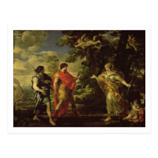 Venus Appearing to Aeneas as a Huntress, c.1635 (o Postcard