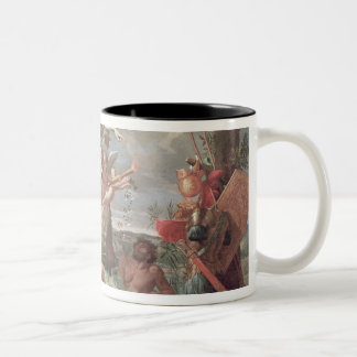 Venus Arming Aeneas, 1639 Two-Tone Coffee Mug