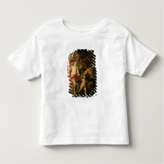 Venus asking Vulcan for the Armour of Aeneas (oil Toddler T-Shirt