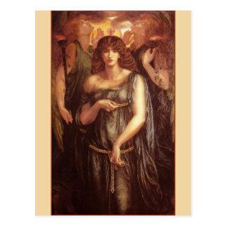 Venus Astarte Syriaca Pre-Raphaelite Art Postcard