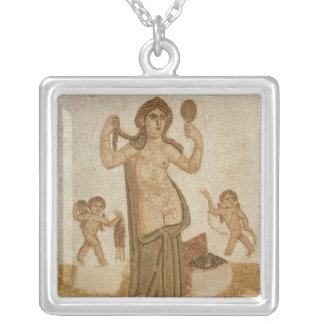 Venus at her Toilet Silver Plated Necklace