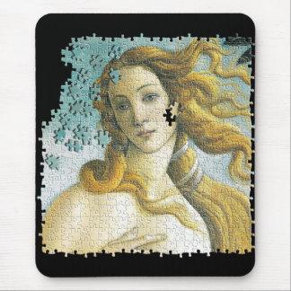 Venus Botticelli puzzle Mouse Mat