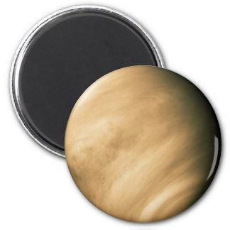 VENUS by Mariner 10 NASA flyby photo 6 Cm Round Magnet