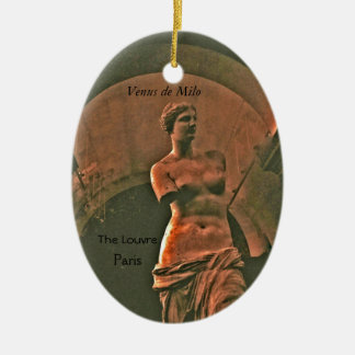 Venus de Milo Louvre Keepsake Ornament