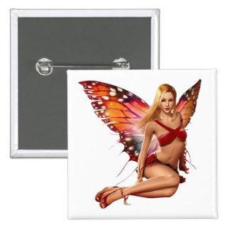 Venus Fairy 15 Cm Square Badge