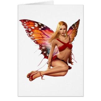 Venus Fairy Greeting Card