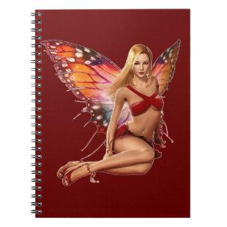 Venus Fairy Spiral Note Book