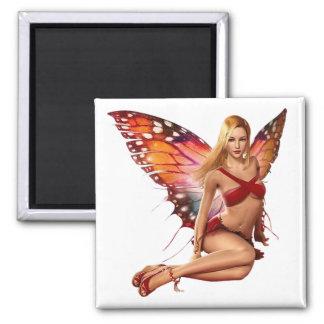 Venus Fairy Square Magnet