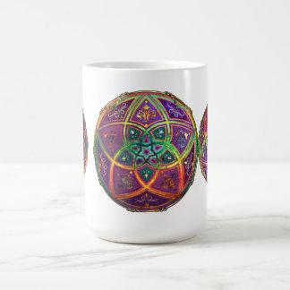 Venus Flower of Love fineART Oriental Antique Gold Classic White Coffee Mug