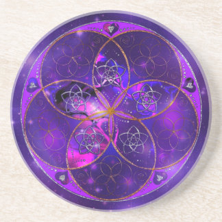 Venus Flower of Love fineART Universe Coaster