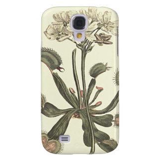 Venus Flytrap Botanical Illustration Galaxy S4 Case