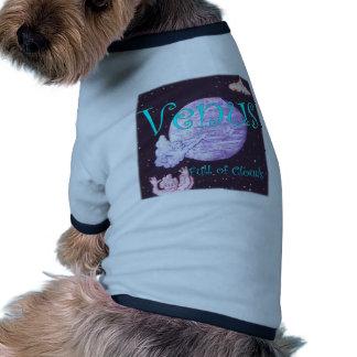 Venus Full of Clouds Ringer Dog Shirt