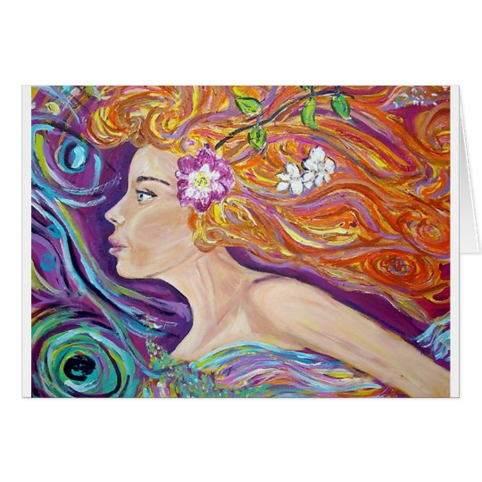 Venus Goddess of Love Card