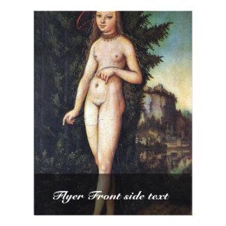 Venus In A Landscape By Cranach D. Ä. Lucas (Best 21.5 Cm X 28 Cm Flyer
