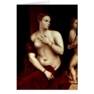 Venus in Front of the Mirror Card