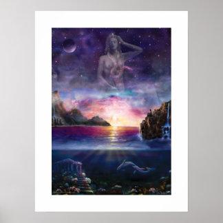 Venus in Scorpio Poster