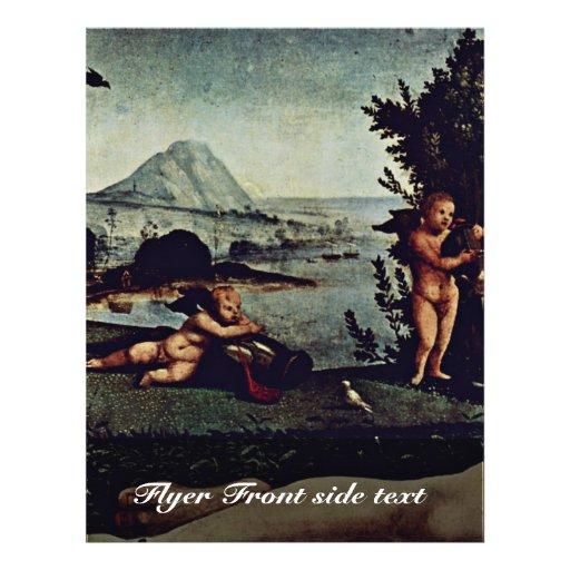 Venus, Mars And Cupid Detail By Piero Di Cosimo (B Flyers