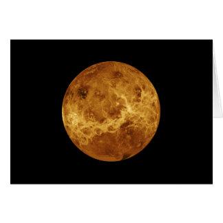 Venus NASA Planet Card