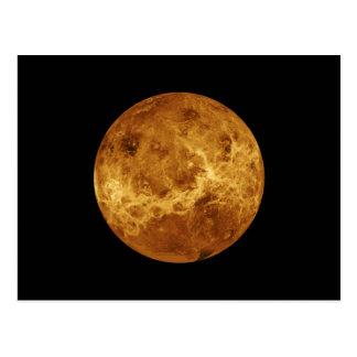 Venus NASA Planet Postcard