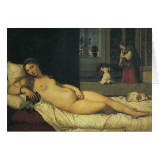 Venus of Urbino by Titian, Renaissance Art Card