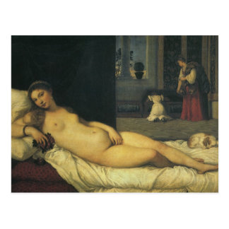 Venus of Urbino by Titian, Renaissance Art Postcard