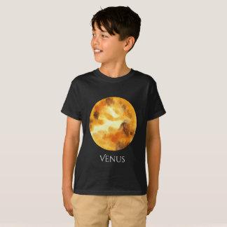 Venus Planet Watercolor Kid's T T-Shirt