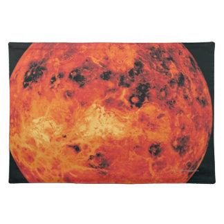 Venus, Radar Map Placemat