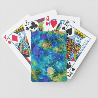 Venus Under False Color Bicycle Playing Cards