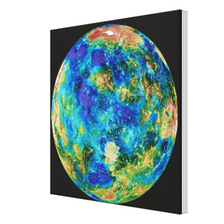 Venus Under False Color Canvas Print